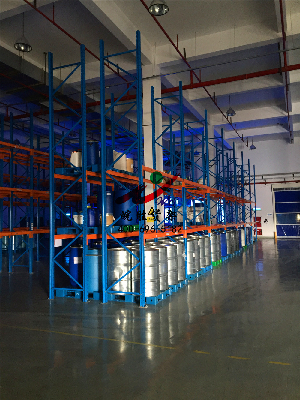 XX日用化学品有限公司 重型货架