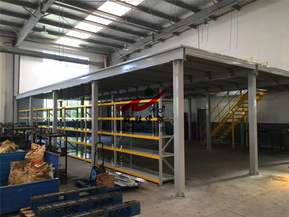 XX医疗制品有限公司 钢平台货架