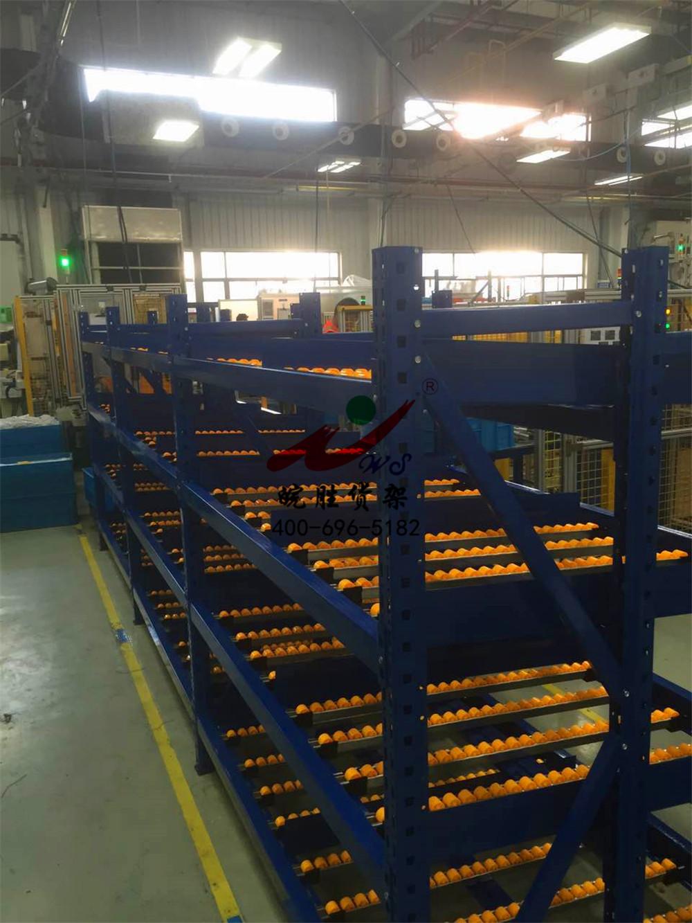 XX金属有限公司 流利式货架