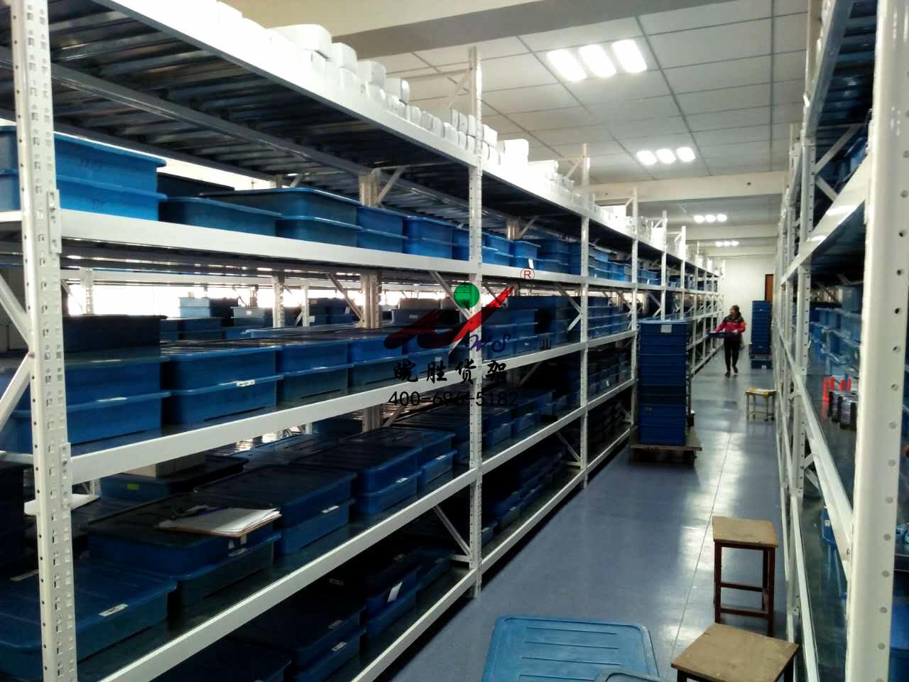 XX光学有限公司 次重型货架