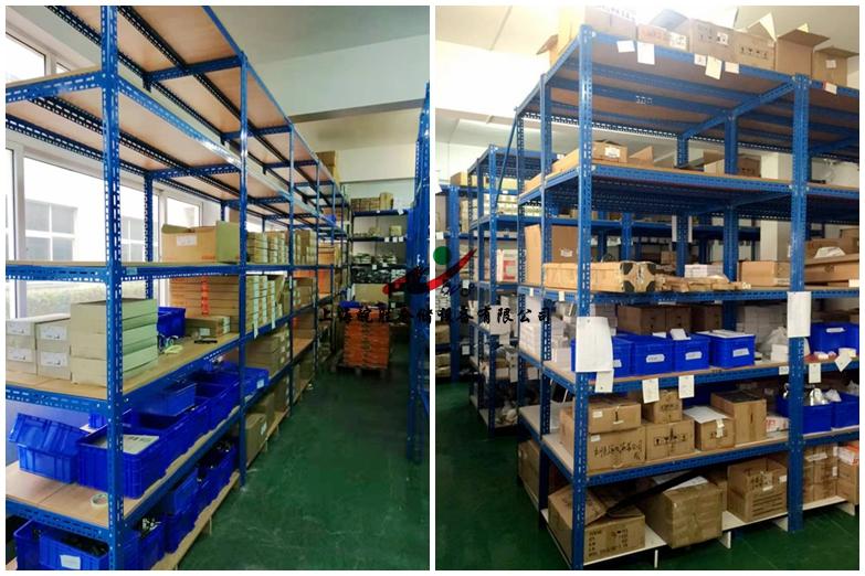 悬臂货架,角钢货架,上海某家具有限公司—皖胜仓储