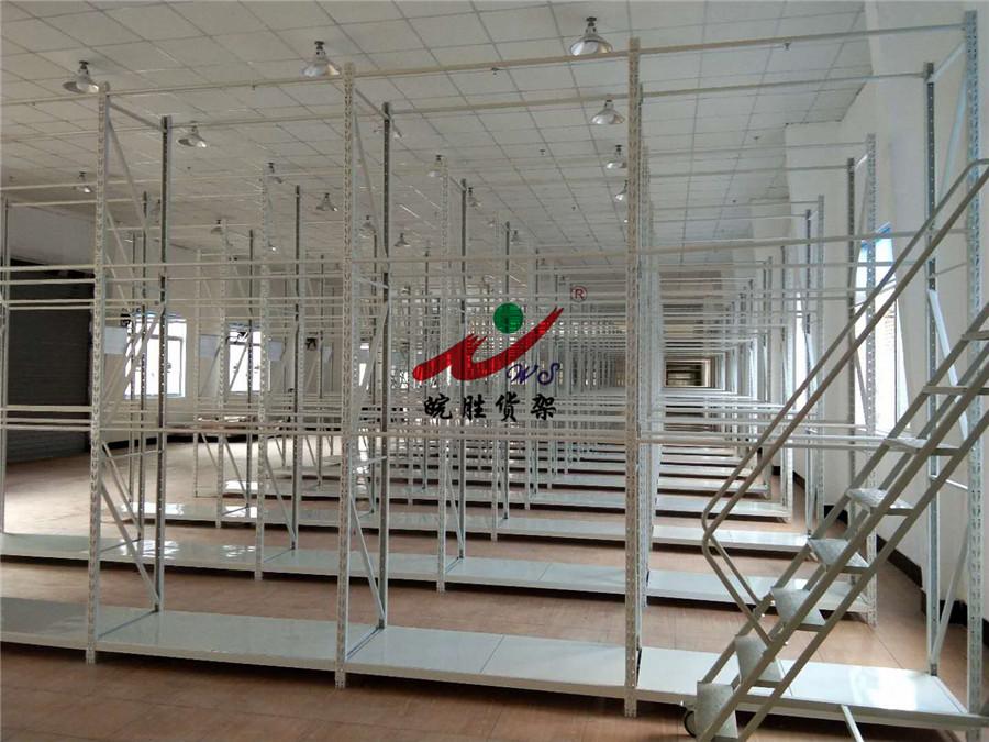 皖胜-XX时装贸易(上海)有限公司 挂衣杆货架 轻型货架 塑料托盘 登高车 置物架 工作台 无动力轨道