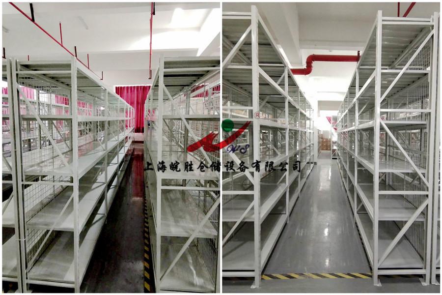 轻型货架,中型货架,上海某服装科技有限公司--皖胜仓储