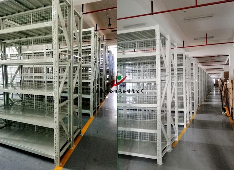 中型货架,背网,上海某服装科技有限公司—皖胜仓储