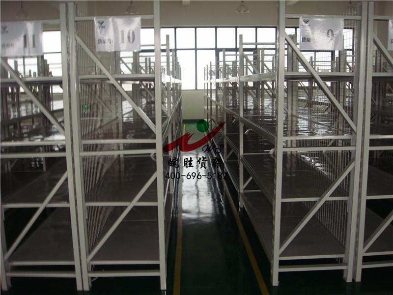 XX物流有限公司 中型货架带背网