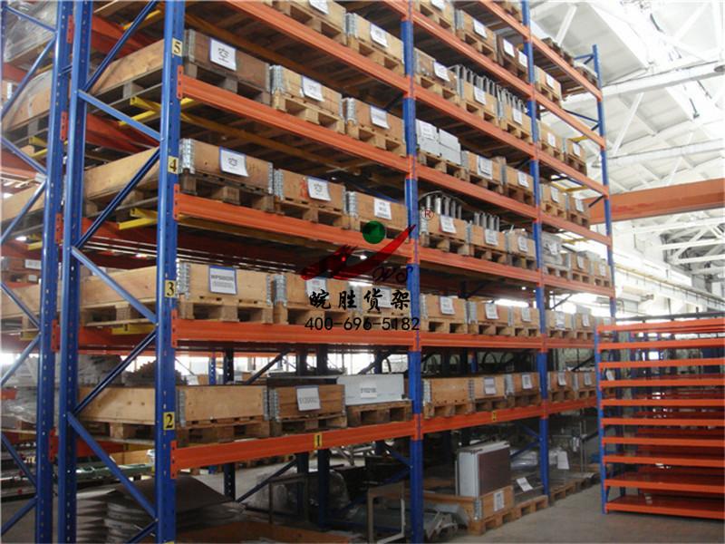 XX机械有限公司 次重型货架+重型+木托盘