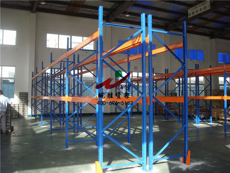 XX电子(上海)有限公司 重型横梁式货架