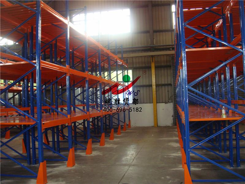 XX排气系统有限公司 重型钢板式货架