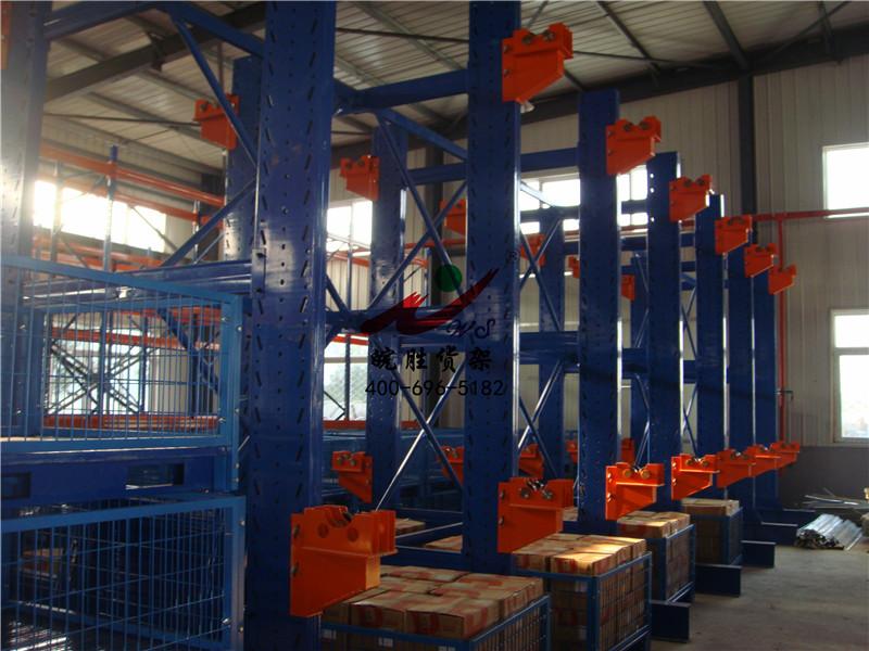 XX电气实业有限公司 线缆货架 重型货架 悬臂货架 仓储笼