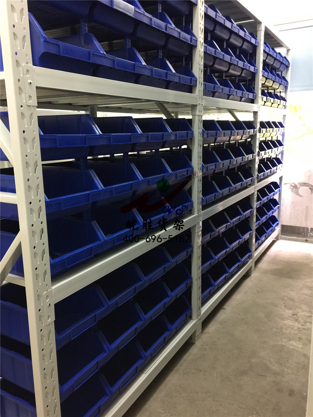 XX传动系统有限公司 中型货架零件盒