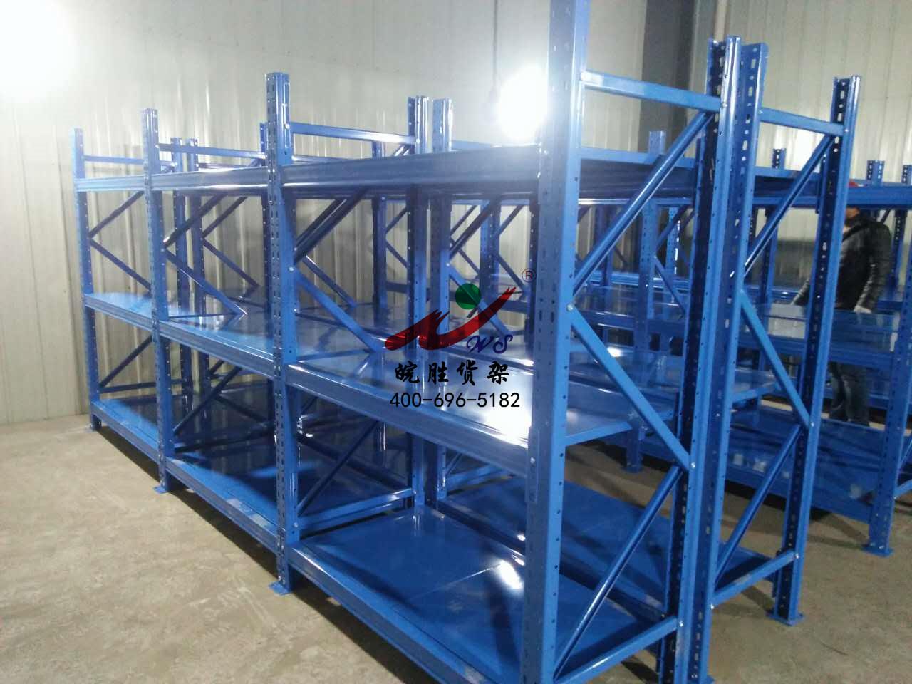 中型货架在人工取货货架类型中的使用特点