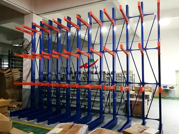 悬臂货架,某工厂自动化工程有限公司—皖胜仓储