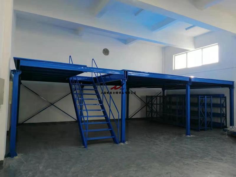 钢平台,次重型货架,上海某智能科技有限公司—皖胜仓储